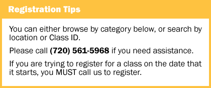 Registration Tips