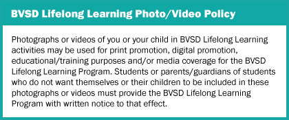 Photo/Video Policy