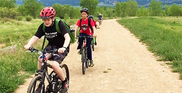 Biking - summer camps ages 10-18 Outdoorsyness - Courses - BVSD Lifelong Learning